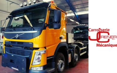 Réalisation : Une peinture neuve pour un camion Volvo